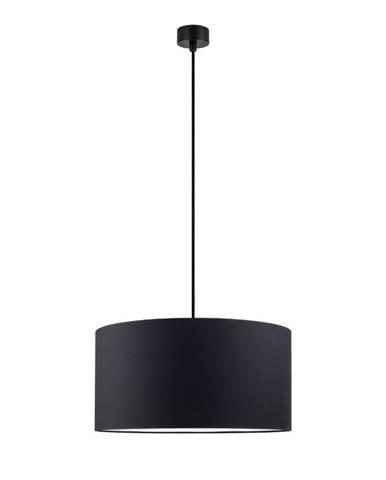 Čierne stropné svietidlo Sotto Luce Mika, ⌀ 40 cm