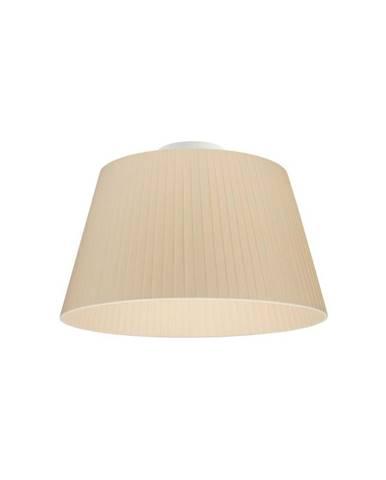 Krémové stropné svietidlo Sotto Luce KAMI CP, Ø36 cm