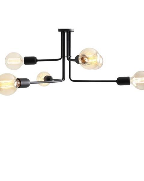 Custom Form Čierne závesné svietidlo na 6 žiaroviek Custom Form Vanwerk