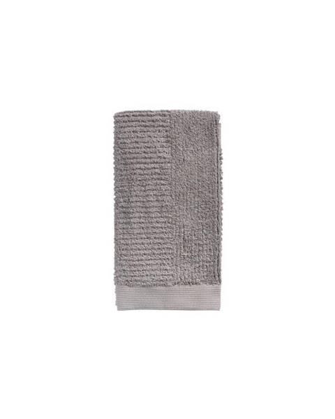 Zone Sivohnedý bavlnený uterák Zone Classic, 50 × 100 cm