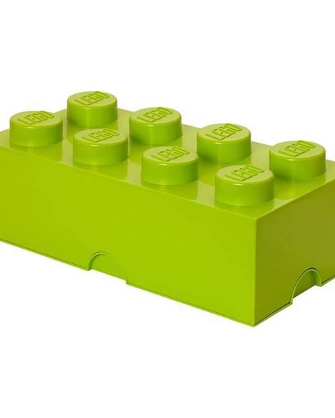 LEGO® Limetkovozelený úložný box LEGO®