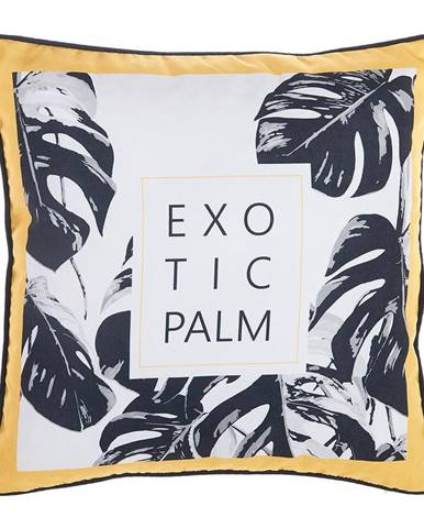 Obliečka na vankúš Mike&Co.NEWYORK Exotic Palm, 43 × 43 cm