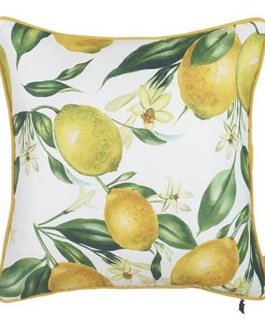 Obliečka na vankúš Mike&Co.NEWYORK Lemon Pattern, 43 × 43 cm