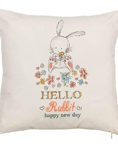 Obliečka na vankúš Mike&Co.NEWYORK Rabbit, 43 × 43 cm