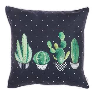 Obliečka na vankúš Mike&Co.NEWYORK Home Cactus, 43 × 43 cm