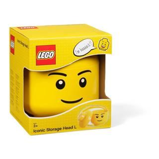 Úložný panáčik LEGO® Boy, ⌀ 16,3cm