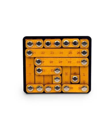 Hlavolam s drevenými prvkami RecentToys Tough Measures