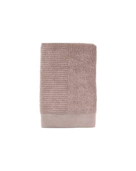 Zone Béžová bavlnená osuška Zone Classic Nude, 70 × 140 cm