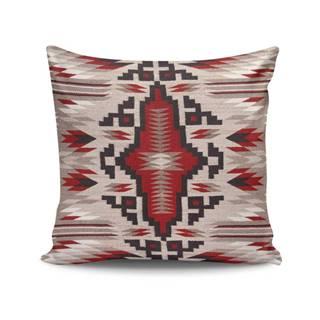 Vankúš s výplňou Indian Pattern, 45×45cm