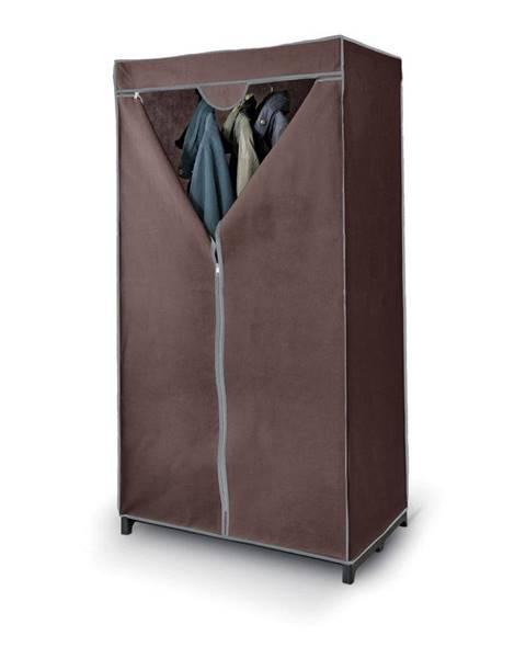 Domopak Hnedá šatníková skriňa Domopak Living Closet