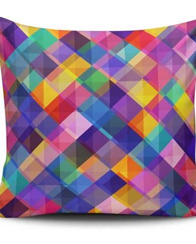 Obliečka na vankúš s prímesou bavlny Cushion Love Gyglo, 45 × 45 cm