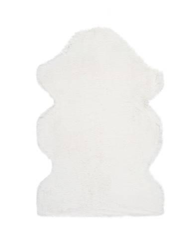 Biely koberec Universal Fox Liso, 60 x 90 cm