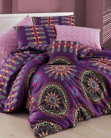 Obliečky s plachtou na dvojlôžko Nazenin Home Hula, 200×220cm