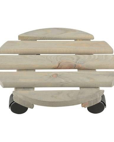 Podložka pod kvetináč z borovicového dreva Esschert Design, ⌀ 29 cm