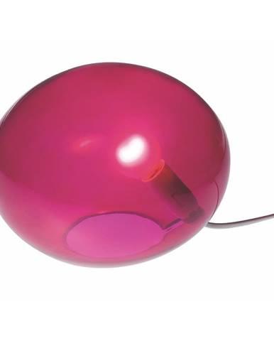 Ružová stolová lampa SULION Ball