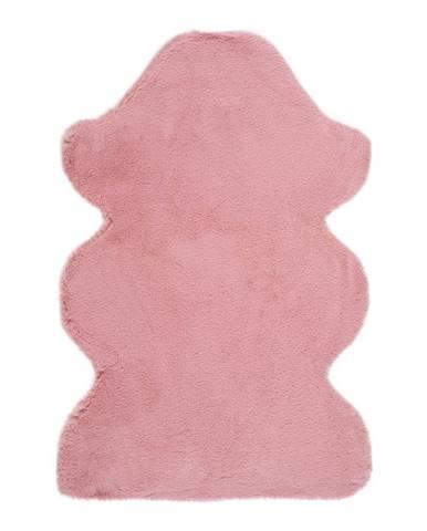 Ružový koberec Universal Fox Liso, 60 x 90 cm