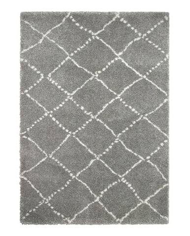 Sivo-krémový koberec Think Rugs Royal Nomadic Grey & Cream, 160×230 cm