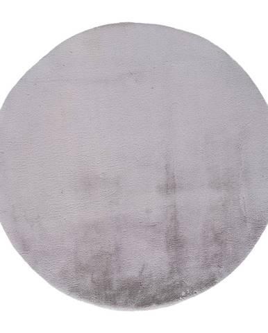 Sivý koberec Universal Fox Liso, Ø 120 cm
