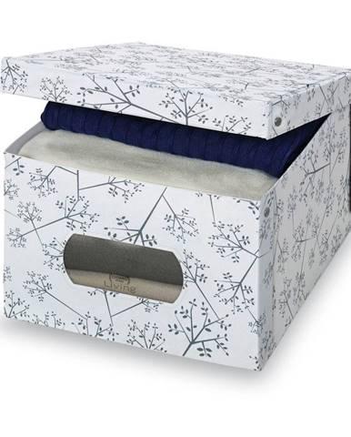 Úložný box Domopak Bon Ton, výška24 cm