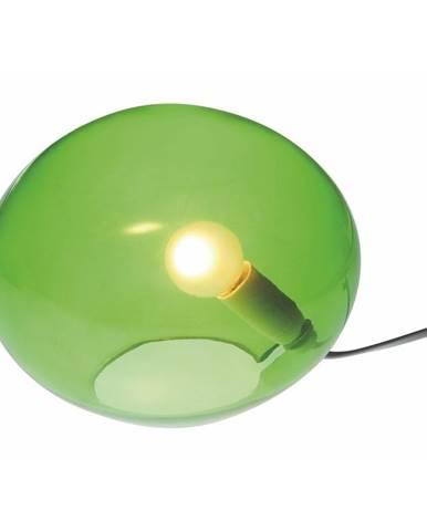 Zelená stolová lampa SULION Ball