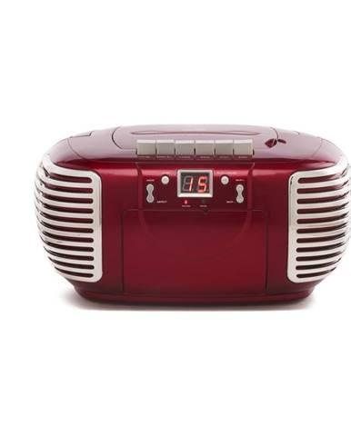 Červený prehrávač GPO PCD 299 Metallic Red