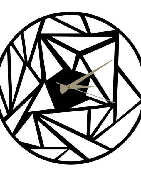 Pirudem Kovové hodiny Peony, 60×50 cm