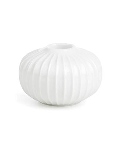 Biely porcelánový svietnik Kähler Design Hammershoi, ⌀ 8 cm
