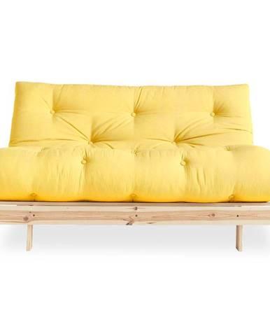 Variabilná pohovka Karup Design Roots Raw/Yellow