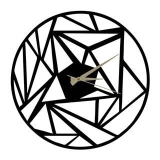 Kovové hodiny Peony, 60×50 cm