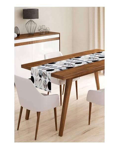 Minimalist Cushion Covers Behúň na stôl z mikrovlákna Minimalist Cushion Covers Pearl, 45×145 cm