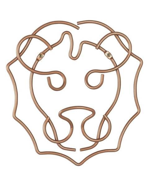 Metaltex Nástenný vešiak lva Metaltex, šírka 27 cm