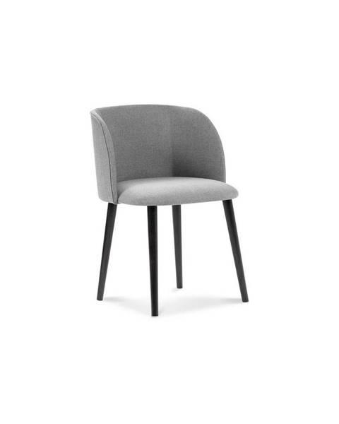 Windsor & Co Sofas Svetlosivá jedálenská stolička Windsor & Co Sofas Antheia