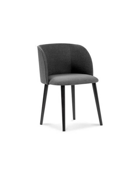 Windsor & Co Sofas Tmavosivá jedálenská stolička Windsor & Co Sofas Antheia