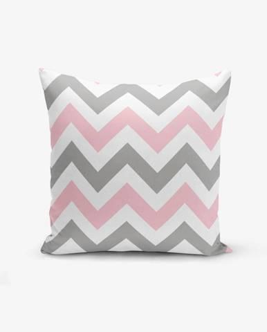 Obliečka na vankúš Minimalist Cushion Covers Zigzag Modern, 45×45 cm