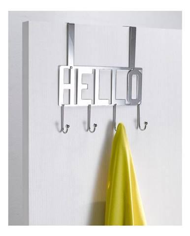 Vešiak na dvere so 4 háčikmi Compactor Hello