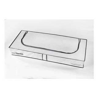 Biely úložný box Compactor Underbed