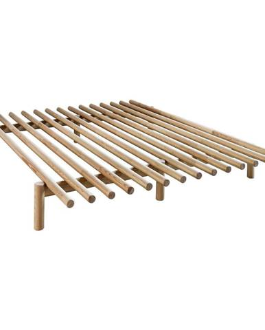 Rám postele z borovicového dreva Karup Design Pace Natural, 180 × 200 cm