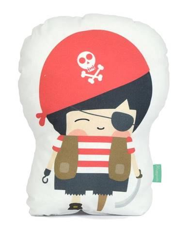 Vankúšik z čistej bavlny Happynois Pirata, 40×30cm