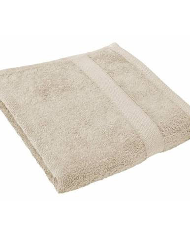 Pieskovohnedý uterák Tiseco Home Studio, 50 × 100 cm