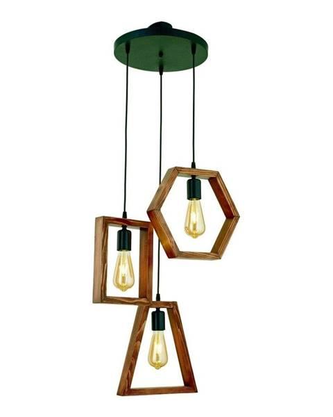 Beacon Závesné svietidlo z hrabového dreva Simetri
