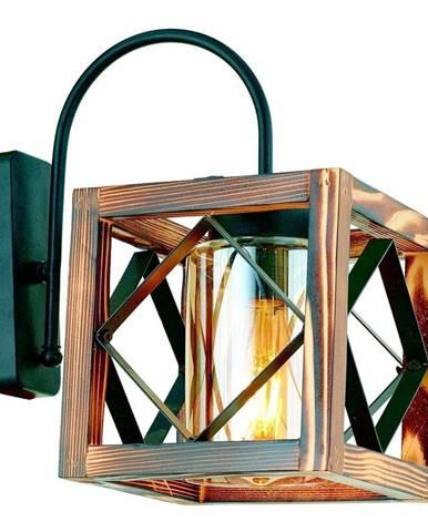 Nástenné svietidlo z hrabového dreva Zikzak Camlı Aplik