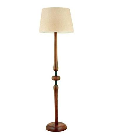 Stojacia lampa z hrabového dreva Mayıs