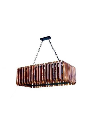 Závesné svietidlo z hrabového dreva Siesta 5li
