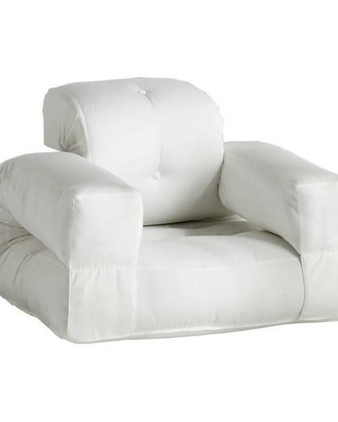 Karup Design Biele rozkladacie kresielko vhodné do exteriéru Karup Design Design OUT™ Hippo White