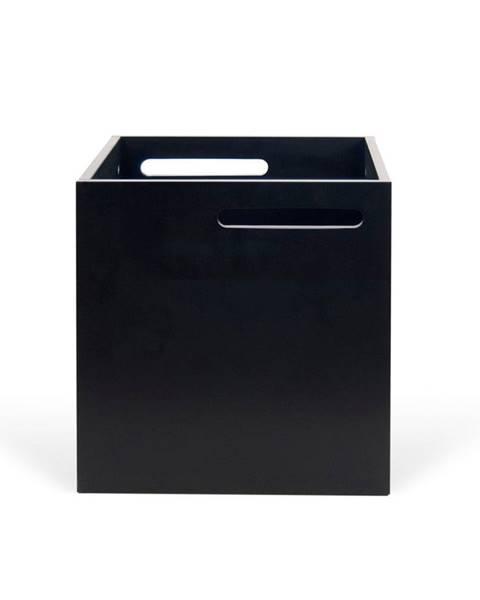 TemaHome Čierny úložný box ku knižniciam TemaHome Berlin