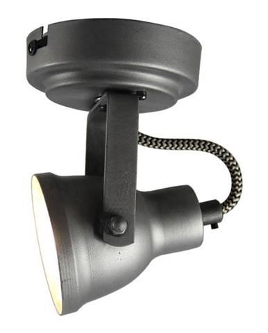 Sivé nástenné svietidlo LABEL51 Spot Max Uno