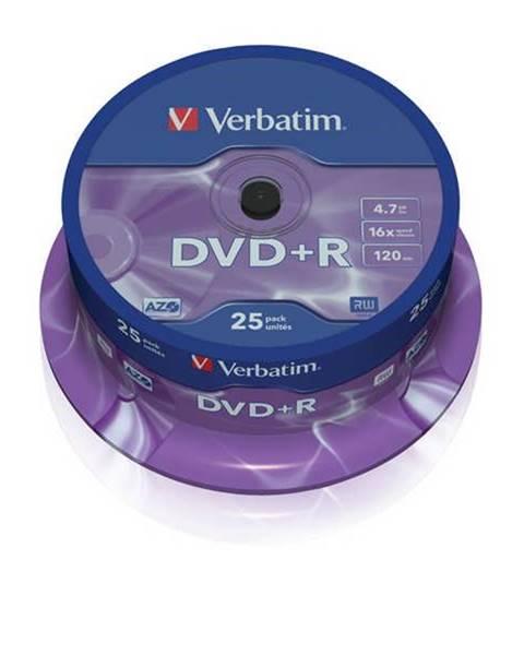 Verbatim Disk Verbatim DVD+R 4,7GB, 16x, 25cake