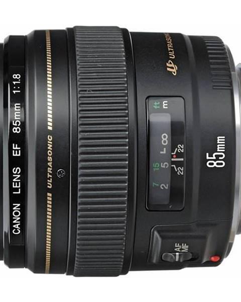 Canon Objektív Canon EF 85 mm f/1.8 USM čierny
