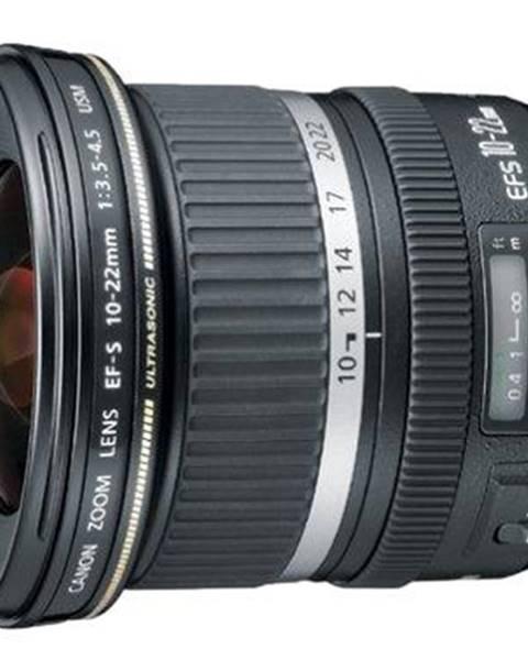 Canon Objektív Canon EF-S 10-22mm f/3.5-4.5 USM čierny