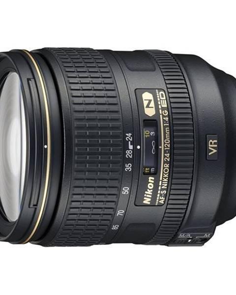 Nikon Objektív Nikon Nikkor 24-120 mm F4G ED AF-S VR čierny